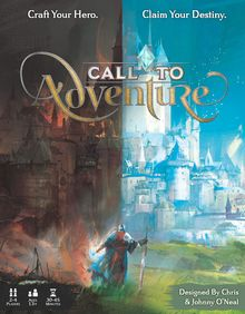 <cite>Call to Adventure</cite> board game