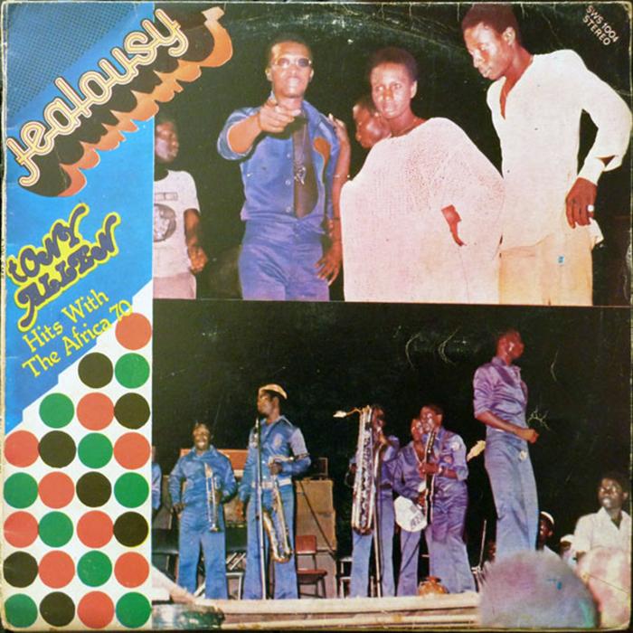 Tony Allen & Africa 70 – Jealousy album art 1