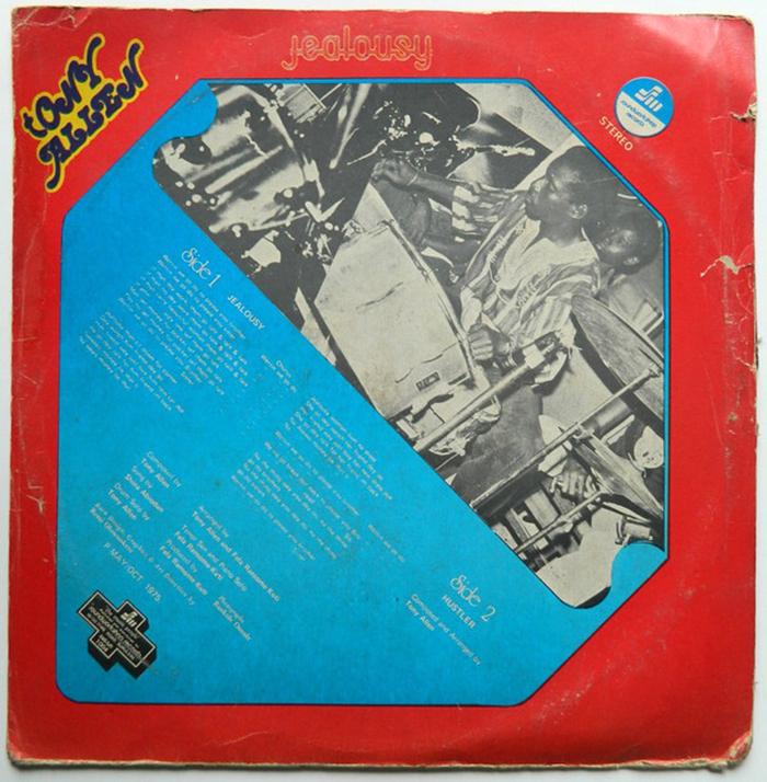 Tony Allen & Africa 70 – Jealousy album art 2