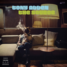 Tony Allen – <cite>The Source</cite> album art