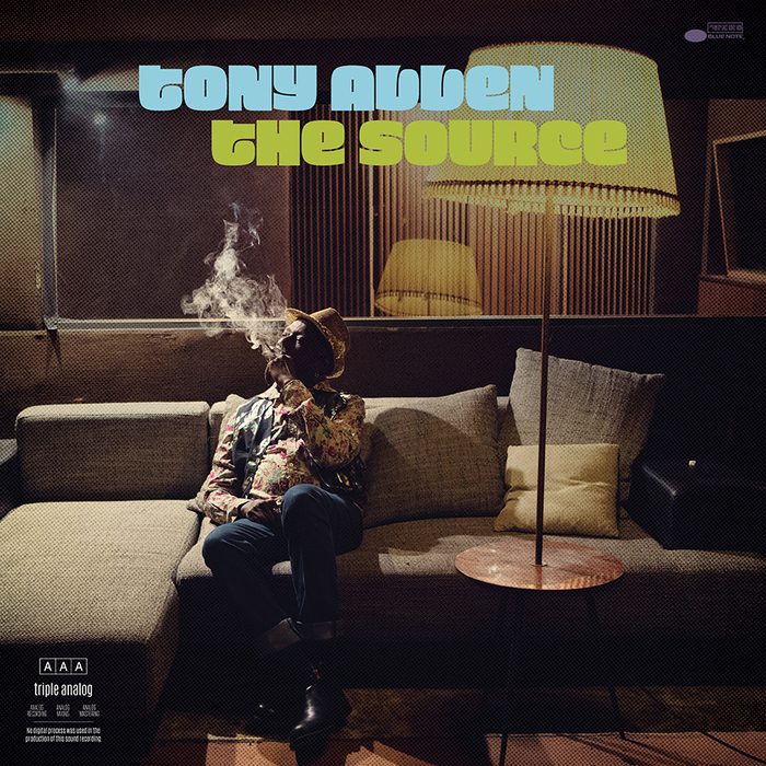 Tony Allen – The Source album art 1