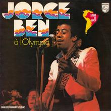 Jorge Ben – <cite>Jorge Ben à l'Olympia</cite> album art