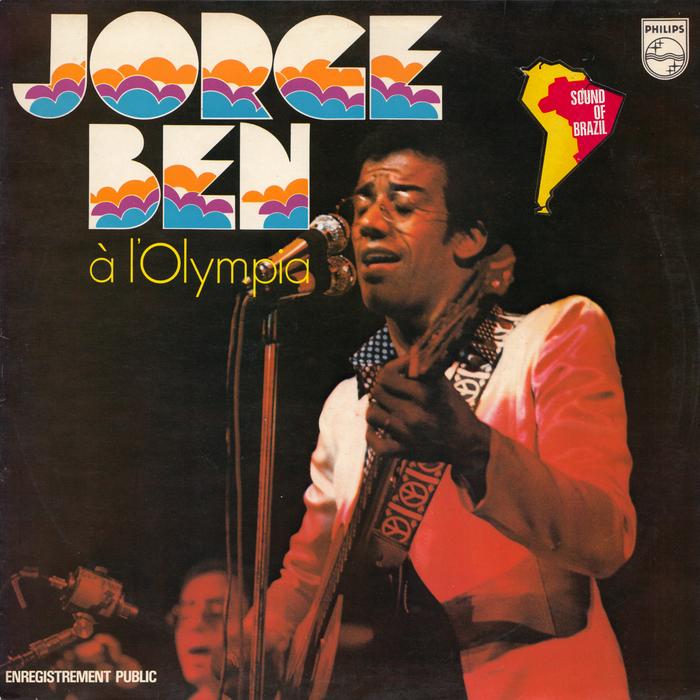 Jorge Ben – Jorge Ben à l'Olympia album art