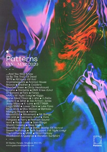 Patterns nightclub posters, Brighton