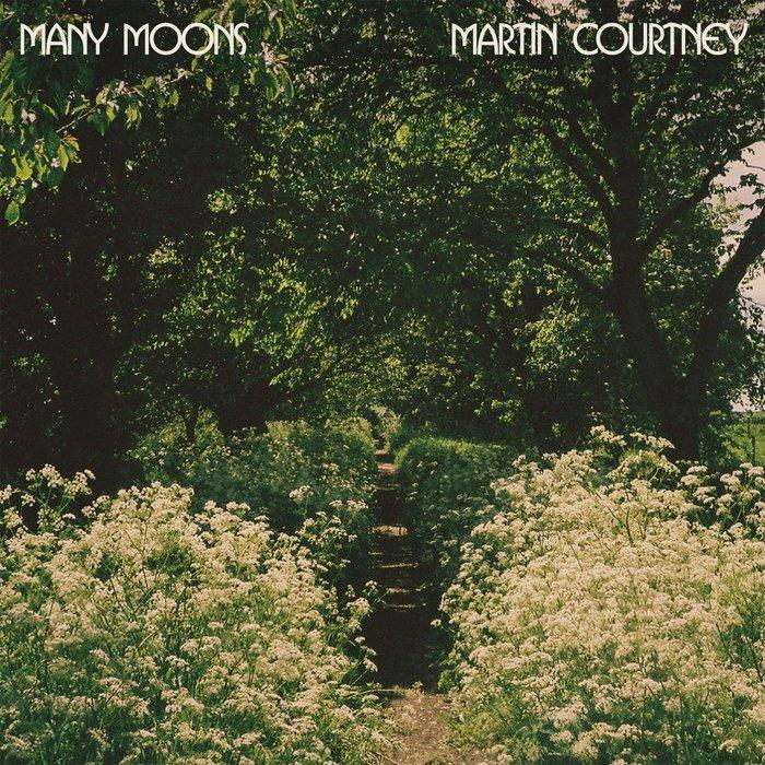 Martin Courtney – Many Moons album art