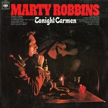Marty Robbins – <cite>Tonight Carmen</cite> album art