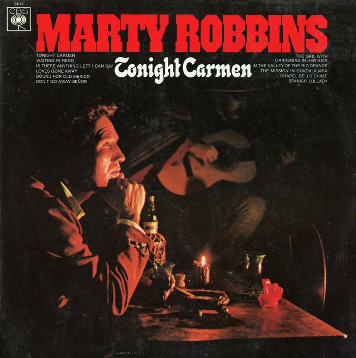 Marty Robbins – Tonight Carmen album art