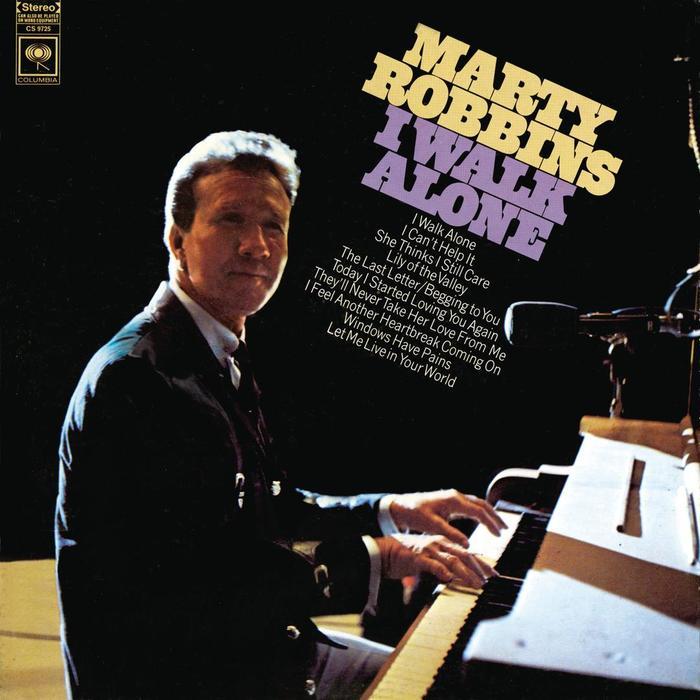 Marty Robbins – I Walk Alone album art