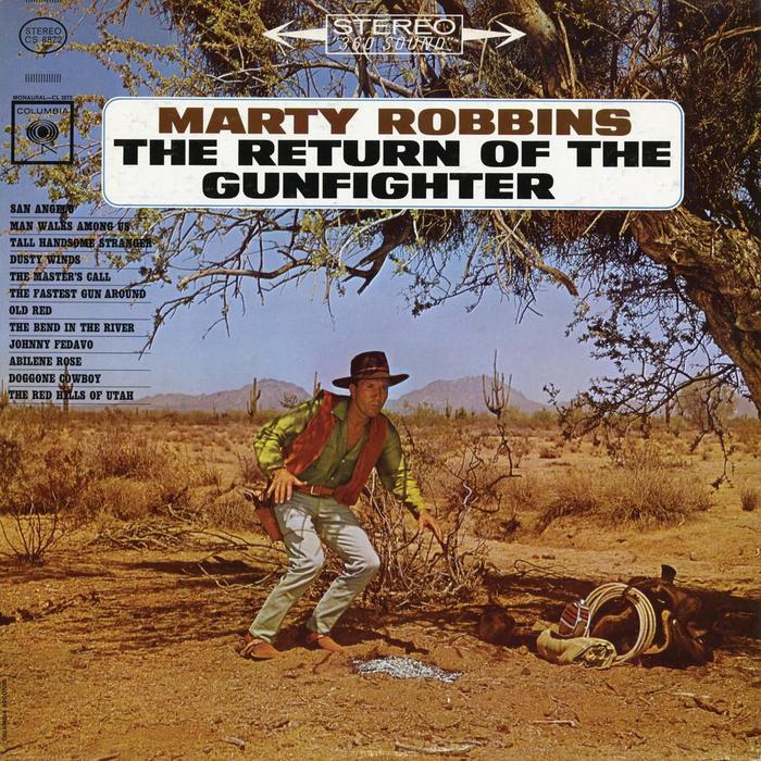 Marty Robbins – The Return Of The Gunfighter album art 1
