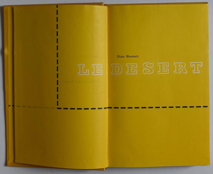 Le désert des tartares by Dino Buzzati (Le Club Français du Livre) 1