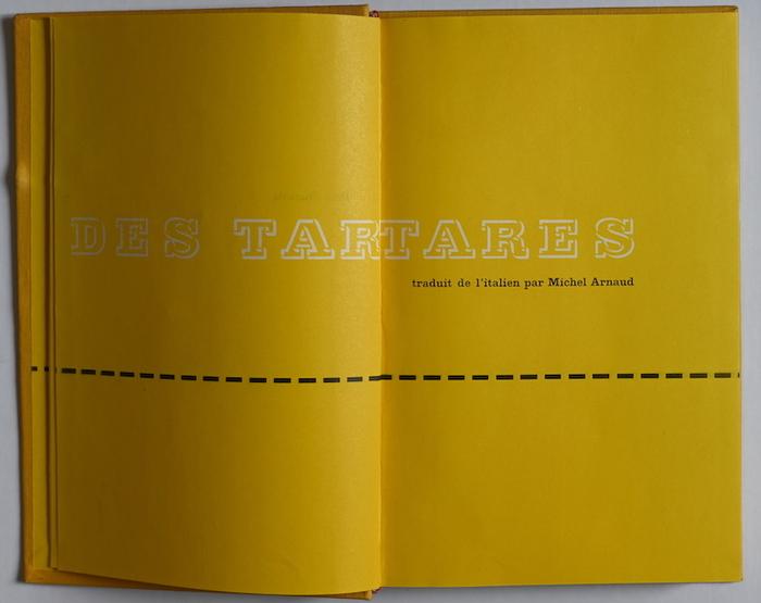Le désert des tartares by Dino Buzzati (Le Club Français du Livre) 2