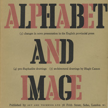 <cite>Alphabet and Image</cite> 6, January 1948