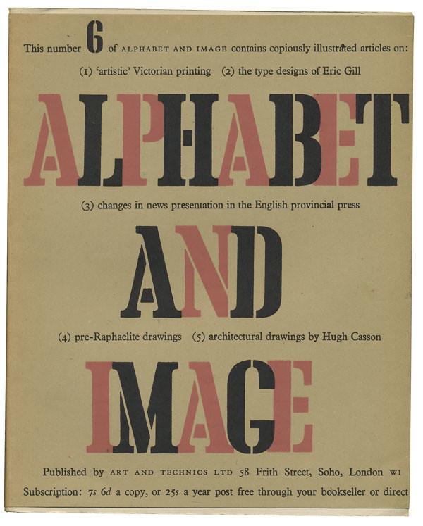Alphabet and Image 6, January 1948