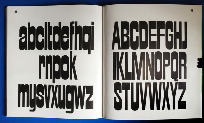 Strada, by Walter Haettenschweiler, as seen in Lettera 3, 1967.