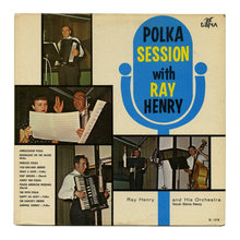 Ray Henry and His Orchestra – <cite>Polka Session With Ray Henry</cite> album art
