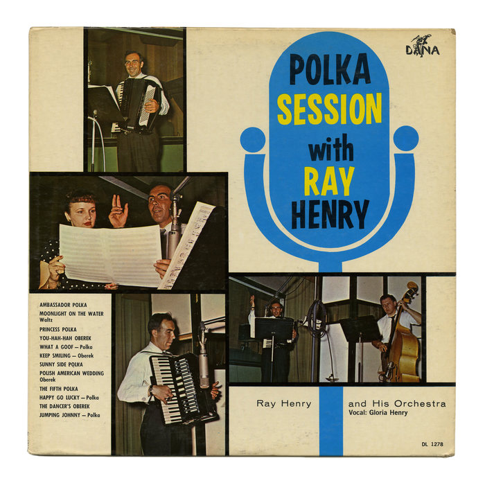 Ray Henry and His Orchestra – Polka Session With Ray Henry album art