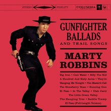 Marty Robbins – <cite>Gunfighter Ballads And Trail Songs</cite> album art