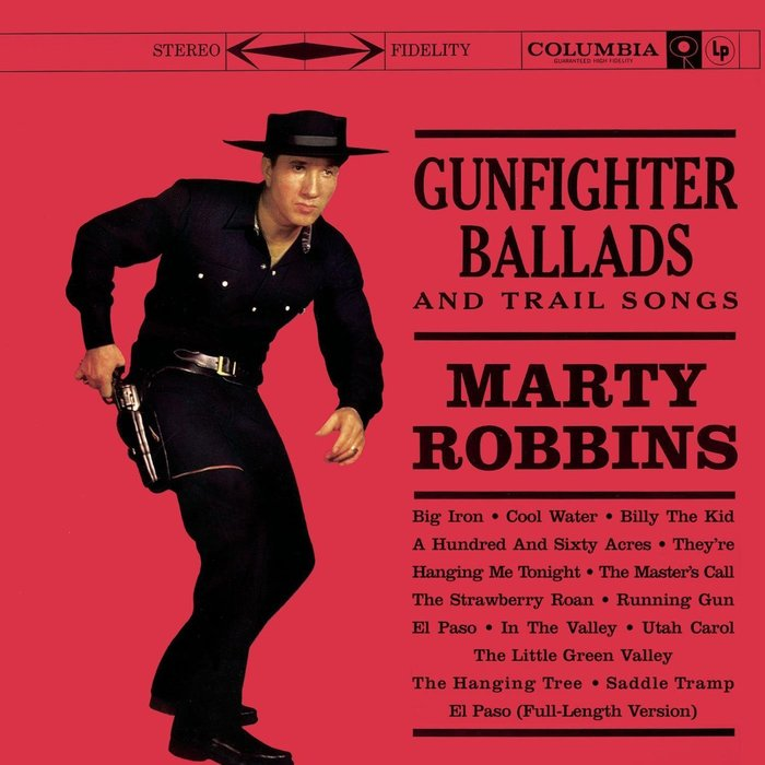 Marty Robbins – Gunfighter Ballads And Trail Songs album art 1