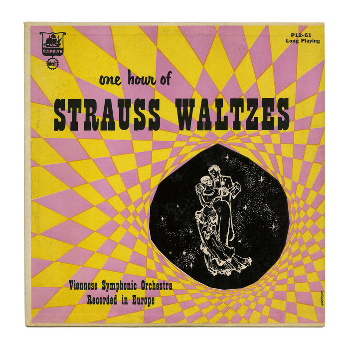 The Viennese Symphonic Orchestra – One Hour Of Strauss Waltzes album art 1