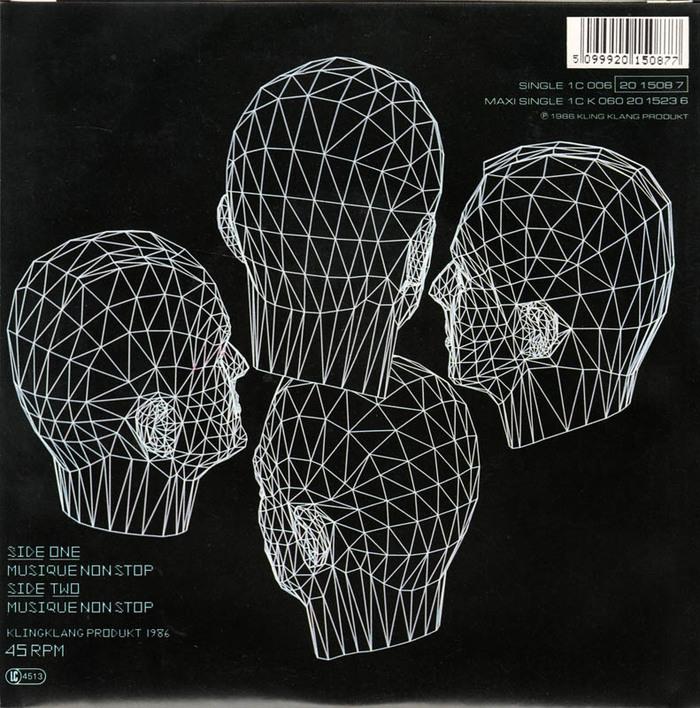 """Kraftwerk – Electric Café LP & """"Musique Non Stop"""" single 4"""