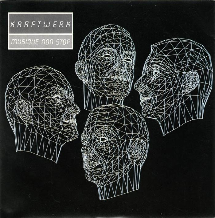 """Kraftwerk – Electric Café LP & """"Musique Non Stop"""" single 2"""