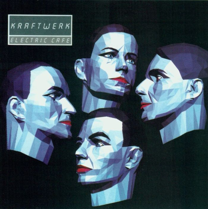 "Kraftwerk – Electric Café LP & ""Musique Non Stop"" single 1"