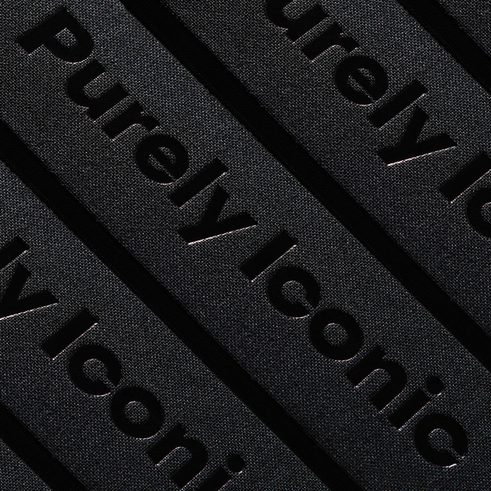 Black foil-blocking on cloth hardback cover