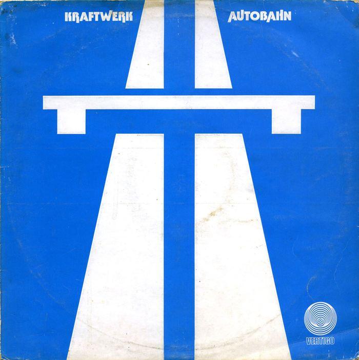 Kraftwerk – Autobahn album art, Vertigo 1
