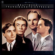 Kraftwerk – <cite>Trans-Europe Express</cite> album art