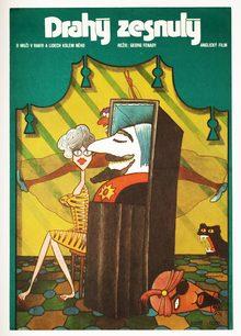 <cite>Drahý zesnulý</cite> (<cite>Arnold</cite>, 1973) Czechoslovak movie poster