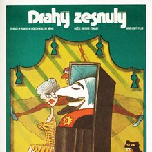<cite>Drahý zesnulý</cite> (<cite>Arnold</cite>, 1973) Czechoslovak movie poster