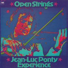Jean-Luc Ponty Experience – <cite>Open Strings</cite> album art