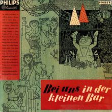<cite>Bei uns in der kleinen Bar</cite> album art