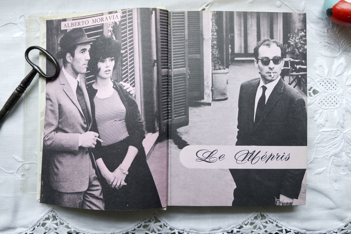 Roger Excoffons's  for Le Mépris by Alberto Moravia, 1964.