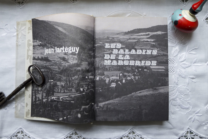 and more  for Les balladins de la Margeride by Jean Lartéguy, 1965.
