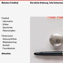 Melaten-Friedhof website