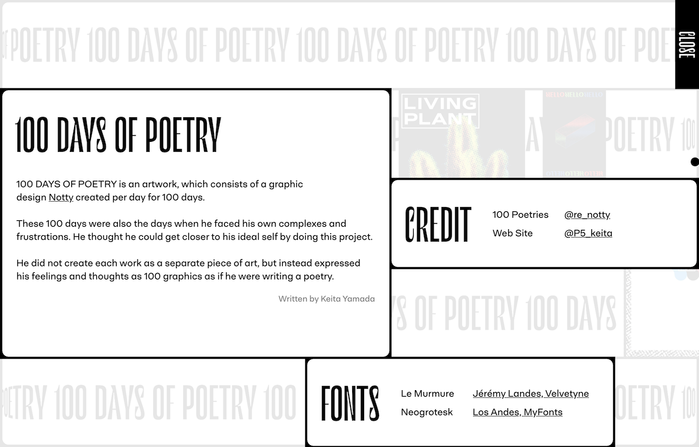100 Days of Poetry 3