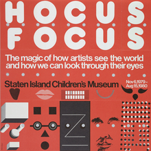 <cite>Hocus Focus</cite> exhibition poster