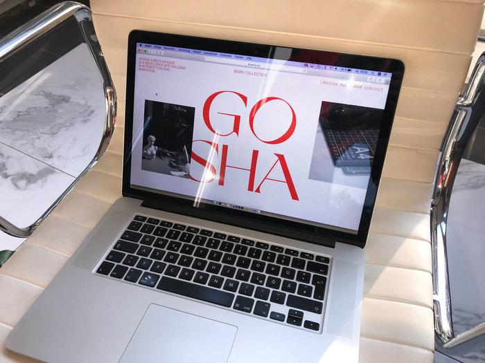 Gosha Khidzhakadze personal website 3