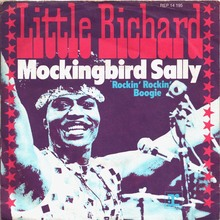 "Little Richard – ""Mockingbird Sally"" / ""Rockin' Rockin' Boogie"" German single sleeve"