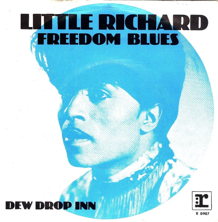 "Little Richard – ""Freedom Blues"" / ""Dew Drop Inn"" German and Dutch single sleeves 2"