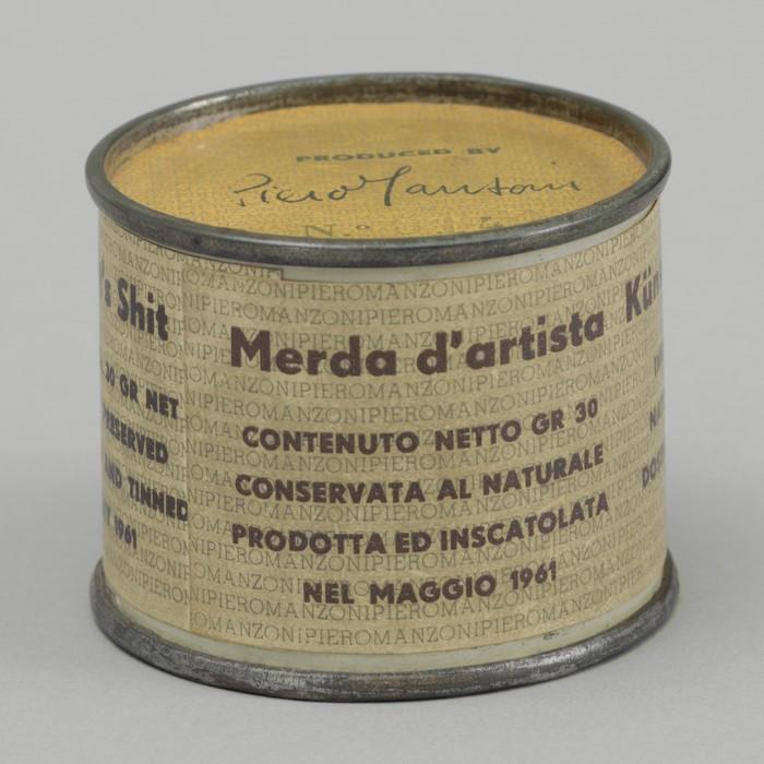 Piero Manzoni: Artist's Shit No. 014, May 1961.