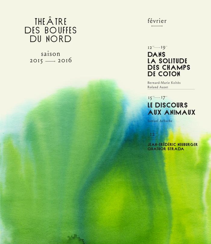 Théâtre des Bouffes du Nord, 2015–16 1