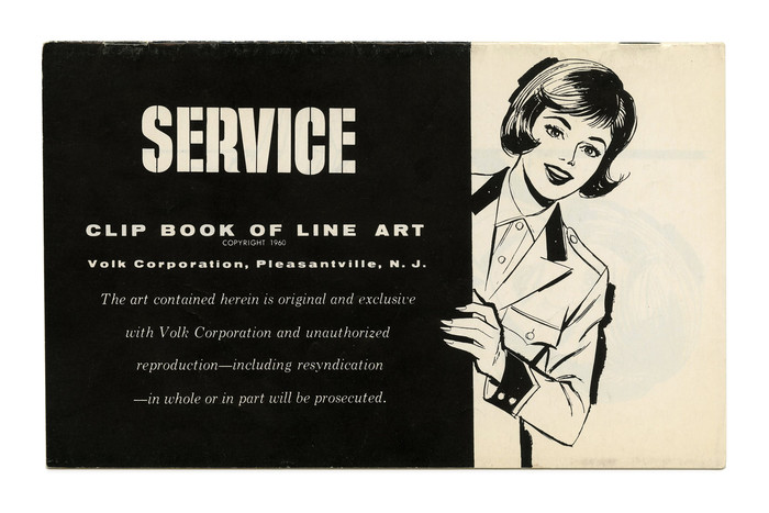 """Service"" (No. 79) ft. , with  and  Italic."