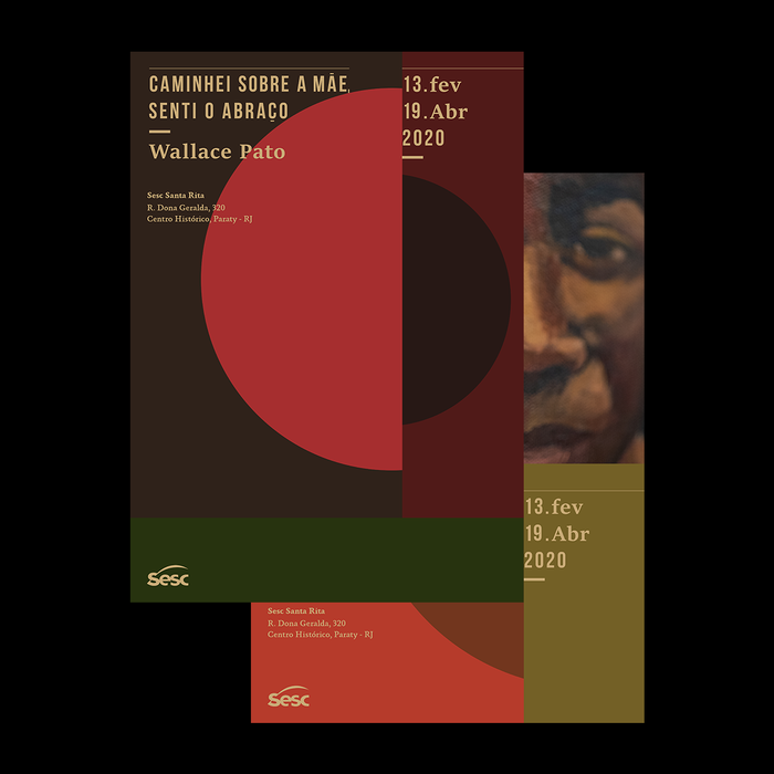 Wallace Pato exhibition posters 1