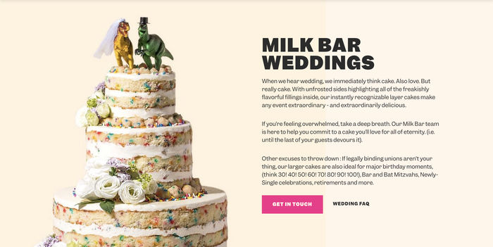 Milk Bar website 4