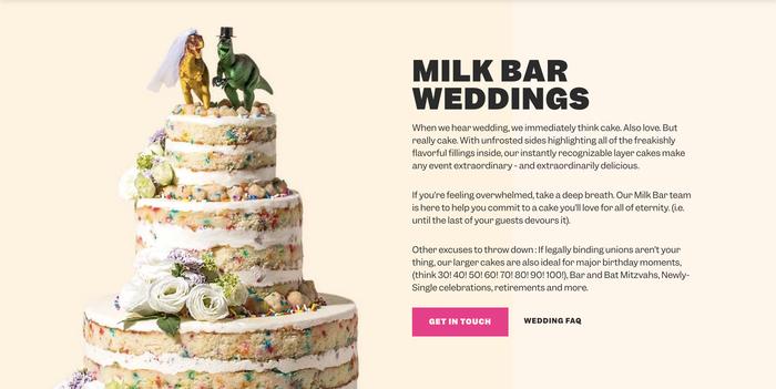 Milk Bar website 4