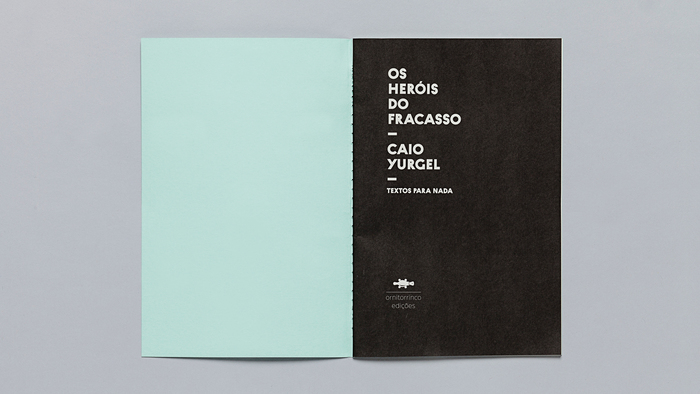 Textos para nada, Ornitorrinco Press 6