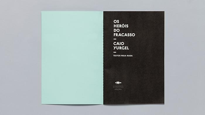 Textos para nada, Ornitorrinco Press 6
