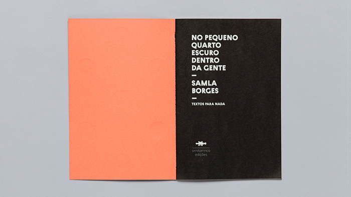 Textos para nada, Ornitorrinco Press 15